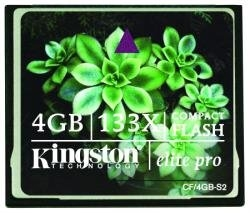 Kingston CompactFlash Card 4GB